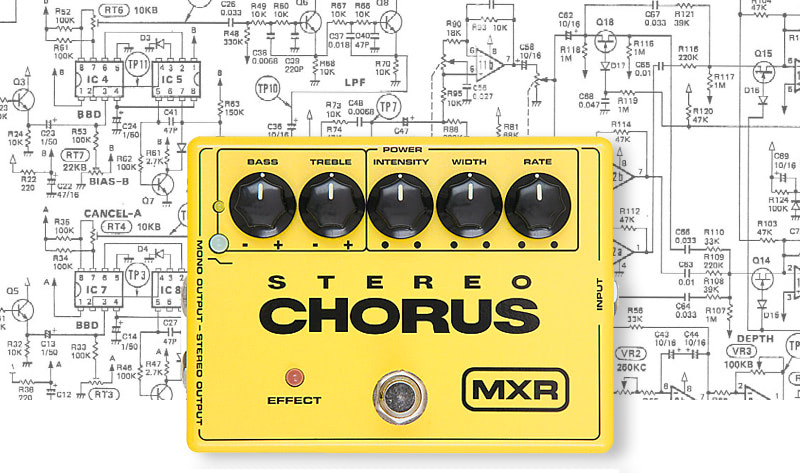 Chorus - modulation effects